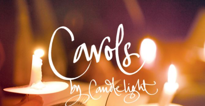 CAROLS by CANDLELIGHT Wednesday 18 December @7.00 pm